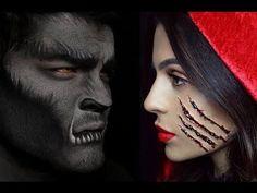 Halloween Makeup: Little Red Riding Hood Teni Panosian - YouTube