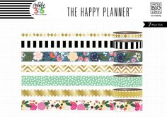 Washi Tape - Botanical Garden for The Happy Planner™ | me & my BIG ideas