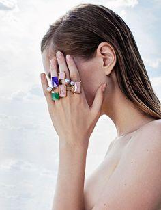 Наталья Алавердян сняла лукбук новой коллекции Volha Jewelry (фото 1)