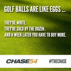 Haha! #golf #golfhumor #golfballs