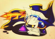 Meta Knight. He's so cool! *ω*