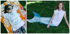 Mermaids are AWESOME tees - girls, teens & womens! | Sassy Steals