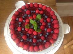 Fruit Tart, Fruit Salad, Acai Bowl, Blueberry, Raspberry, Cheesecake, Cherry, Breakfast, Sweet