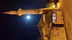#Moon in #Mostar