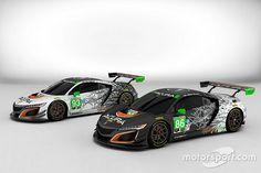Les Acura NSX affichent leurs couleurs