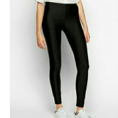 Leggings Black Slim Elastic Leggings Boutique  Pants Leggings