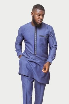 African fashion is available in a wide range of style and design. Whether it is men African fashion or women African fashion, you will notice. African Prom Suit, African Dresses Men, African Attire For Men, African Clothing For Men, African Shirts, African Wear, African Jumpsuit, African Style, Nigerian Men Fashion