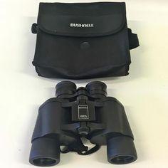 BUSHNELL Binoculars 7x35 420ft at 1000yds 140m at 1000m Field 8 degrees~ w/CASE #Bushnell