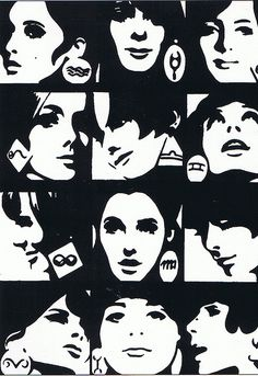 Horoscope for Elle magazine by Roman Cieslewicz 1965