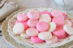 Cream Cheese Mints - easy, elegant, delicious, and perfect for parties! | from candy.about.com