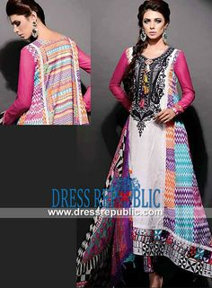 Charismatic Noir Designer Lawn Collection 2014 By Ajwa Textiles Shop Online Charismatic Noir Designer Lawn Collection 2014 By Ajwa Textiles