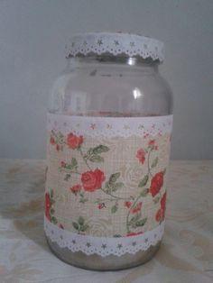 Tin Can Crafts, Diy Arts And Crafts, Diy Crafts, Bottle Art, Bottle Crafts, Bottles And Jars, Glass Bottles, Canning Jars, Mason Jars
