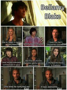 The 100 Bellamy Blake