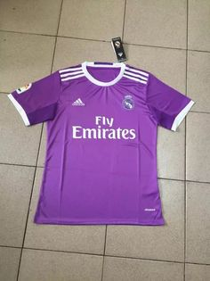 Real madrid 16/17 purple Jersey