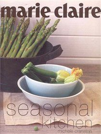 Marie Claire Seasonal Kitchen: The Ultimate Recipe Collection.  The thing that I like most about this book is its lack of preachiness.  This book isnt about locavores and their ramps or 100mile diets, it's about what you crave during each season, drawing from a myriad of cultures.  This book is really about the way we eat today- global, local, complex, simple, alone and with friends.  The authors of this book just *get it*
