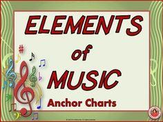 Elements of Music: Anchor Charts and music Worksheets Piano Lessons, Music Lessons, Music Classroom, Classroom Ideas, Music Teachers, Classroom Walls, Classroom Resources, Classroom Organization, Music Anchor Charts