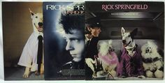 Rick Springfield LP #Vinyl Record Lot: Working Class Dog + Hard to Hold +