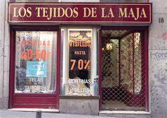 LA MAJA Esparteros 18, 28012 Madrid teléfono...915 22 2513 info@lostejidosdelamaja.es. Telas para cortinas, tapicería, visillos...