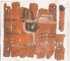 Oldest Known Geological Map  Fawakhir Gold Mine ( 1350-1205BC ) Egypt    http://www.eng.cu.edu.eg/mining/