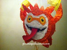 Piñatas que Ilusionan: Piñata Skylander Happy Trigger