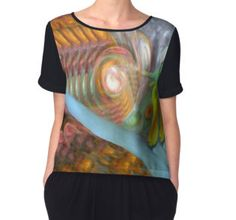 'Waters Of Life' Women's Chiffon Top available at http://www.redbubble.com/people/chrisjoy/works/1980151-waters-of-life