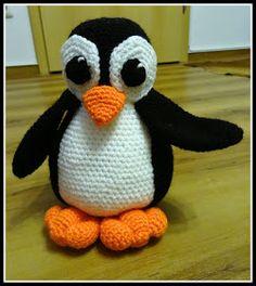 Fannysbuntewelt: Häkel - Pinguin