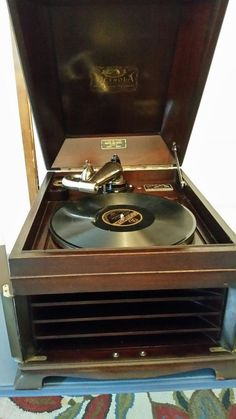 1919 Victor Victrola VV-IX Table Top 78 Record Player Phonograph Talking Machine | Collectibles, Radio, Phonograph, TV, Phone, Phonographs, Accessories | eBay!