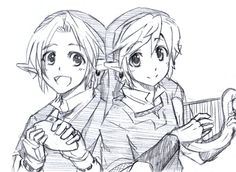 OoT and SS - theyre so cute ~