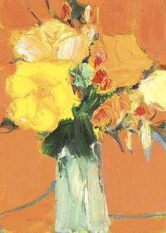 Yellow Roses,  John Houston.