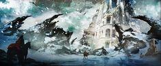 blizzard environment art - Google Search