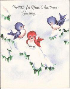 Thanks For Your Christmas Greeting...