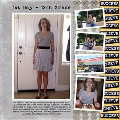 high school scrapbook idea | Scrapbooking Lifes Milestones and Transitions | Pat Zahn - Photo ...