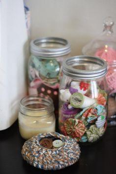 easy patternless crochet bowls