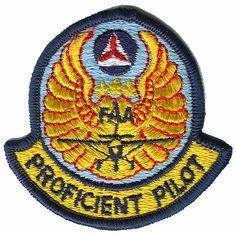 Proficient Pilot Patch, Civil Air Patrol