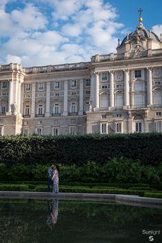 Alejandra + Eric Sesión pre boda @ Jardines de Sabatini Madrid, España. 05.05.2018