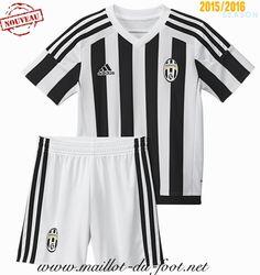boutique Maillot de foot Juventus Enfant Domicile 2015 2016 chine