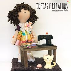 Trabalhos manuais da artesã Dani Fressato, apostilas e materiais de artesanato à venda para todo o Brasil.