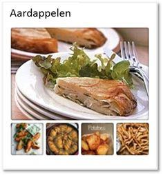 Alle aardappelgerechten, gewoon gebakken of in de oven maar ook aardappelgratin, aardappelkoek, gepofte aardappel etc. Allrecipes, Turkey, Meat, Chicken, Cooking, Food, Salad, Kitchen, Cuisine