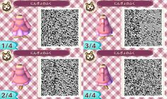 Animal Crossing: New Leaf QR - Ariel (Pink Dress; Disney's The Little Mermaid)