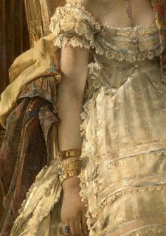 """centuries-and-continents: """" Alfred Stevens Desperate (detail) """""""