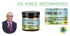Decrease Pain + Inflammation with DMSO Gel #natural #health #painrelief #antiinflammatory