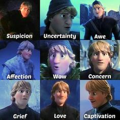 The many faces of kristoff