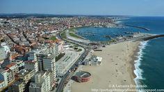 ´Norte de Portugal Póvoa de Varzim - praia e porto de pesca