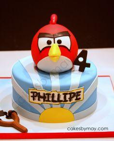 Angry Birds — Children's Birthday Cakes