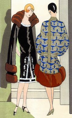 Vintage+Art+Deco+Posters | Vintage Art Deco Fashion Illustrations Gustav Beer 1920s Posters ...