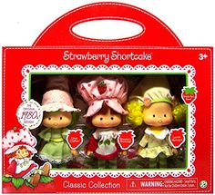 Strawberry Shortcake, Lemon Meringue & Lime Chiffon Classic Collection Exclusive Classic Doll Re-Issue of Original Dolls 6