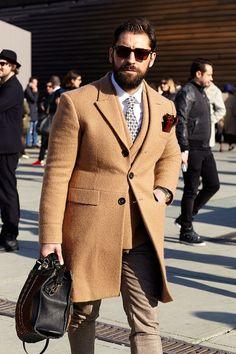"unomaggio: ""Pitti Uomo 87 Street Style. """