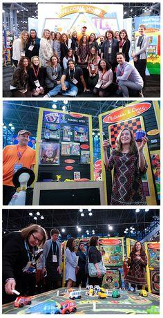 Toy Fair 2016 with Melissa & Doug