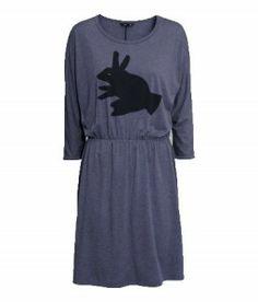 Kleid Schattenhase Größe M Jersey