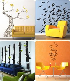 funny wall paintings (:
